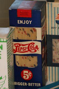 1940s Pepsi Straws