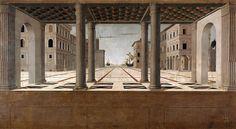 Francesco di Giorgio Martini (attributed) - Architectural Veduta