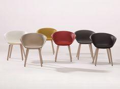 Ergonomischer Stuhl aus Polypropylen Kollektion Duna 02 by Arper | Design Lievore Altherr Molina