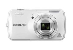 $326.95 Nikon COOLPIX S800c 16 MP Digital Camera with 10x Optical Zoom NIKKOR ED Glass Lens and 3.5-inch OLED touch screen (White) by Nikon, http://www.amazon.com/dp/B0090SLKFM/ref=cm_sw_r_pi_dp_FBdMqb1SS55A5