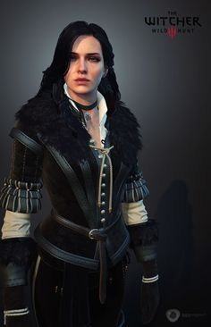 Paweł Mielniczuk is character art director at CD Projekt Red, developers of The Witcher series. In these images, you'll see some of the design process behind one of The Witcher main characters, Yennefer. The Witcher Wild Hunt, The Witcher Game, Yennifer Witcher, Yennefer Cosplay, Witcher Wallpaper, Yennefer Of Vengerberg, Shadow Of The Colossus, Elves Fantasy, Halloween Cosplay