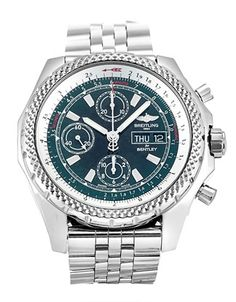 Obsessed with men's watches worn high on the arm. This men's watch from Breitling for Bentley combines the trend with another obsession.The Bentley. Breitling Superocean Heritage, Breitling Navitimer, Breitling Watches, Bentley Gt, Breitling Bentley, Bentley Motors, Style And Grace, Watch Sale, Watches Online