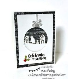 Hometown Greetings Christmas Card Lorri Heiling Stampin' Up