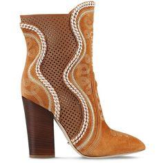 Sergio Rossi Dahalia ($1,525) ❤ liked on Polyvore featuring shoes, light brown, sergio rossi, sergio rossi shoes e light brown shoes