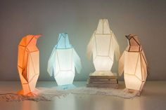 Origami-Inspired Wildlife Paper Lamps  OWL Paperlamps is a Portuguese brand founded in Lisbon in 2016. Drawing their inspiration from the origami practice Hugo and Teresa gave life to diverse animals that can take place in your living room or in your bedroom. A nice collection of owls penguins turtles and parrots is therefore waiting for you on their online shop.               #xemtvhay