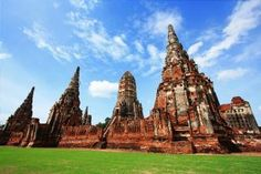 Ayutthaya's temple and palace ruins