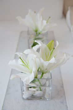 With sturdy petals and structured lines, the lily is a fantastic choice for wedding centerpieces and bouquets. Lilies are versatile and make a bold statement whether on their own or with a number of other blooms. On a budget? The lily could be a great option for you, as just a few blooms make a trul