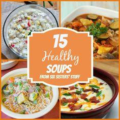 15 Healthy Soups