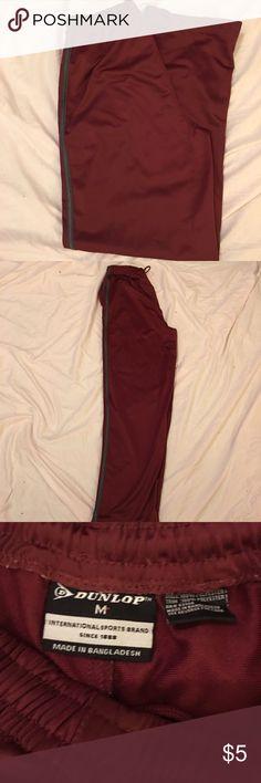 Men's athletic pants Maroon & black men's basketball pants Pants Sweatpants & Joggers