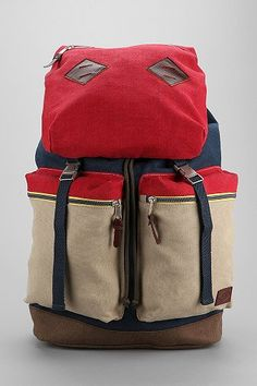 Spurling Lakes Colorblock Backpack - Urban Outfitters ($24.00). js