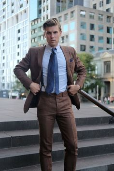The Tie Guy   Men's Suits   Pinterest   Ties, Suits and Brown