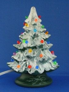 Handmade Ceramic Lighted Christmas Tree by ABChristmas on Etsy