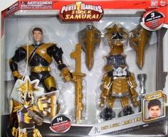 Amazon.com: Power Rangers 12 inch Battlized Figures - Shogun Gold: Toys & Games