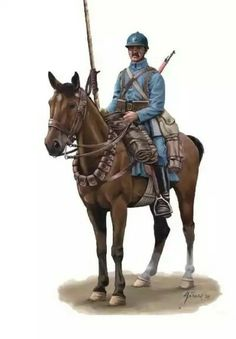 French Cavalry WW1, pin by Paolo Marzioli