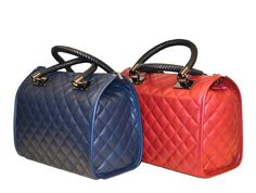 Caracol - Inspired Jewelry and Handbags - Italian Leather Diamond Pattern Handbag Italian Leather Handbags, Stylish Handbags, Handbag Patterns, How To Make Handbags, Satchel Handbags, Quilted Leather, Diamond Pattern, Louis Vuitton Damier, Cute Pictures