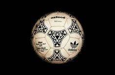 The 1986 Mexico World Cup ball the Azteca based off the Aztec Indian tribe.
