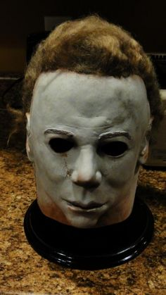 Replica White Masks / Handiboy Studios NHK/Captain (Mulpagano) | Michael-Myers.net Mask Gallery