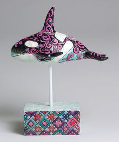 Take a look at this Whale Figurine by Jim Shore on #zulily today!