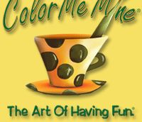 Color Me Mine in Dublin Ohio. I saw a Groupon for this and I thought it would be an awesome idea for a kid's birthday party. Putting it in my party ideas!