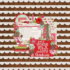 Template: In the Garden by Two Tiny Turtles Kit: All Year Round: Confections by Traci Reed and Jady Day Studios