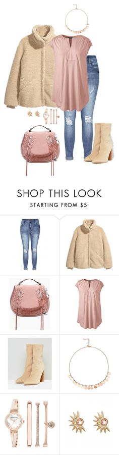 """""""March morning- plus size"""" by gchamama ❤ liked on Polyvore featuring H&M, Rebecca Minkoff, Lands' End, Public Desire, Anne Klein, Hipanema and plus size clothing"""