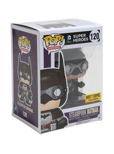 Funko DC Comics Batman Pop! Heroes Steampunk Batman Vinyl Figure Hot Topic Exclusive | Hot Topic