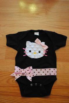 Hello Kitty Baby Onesie