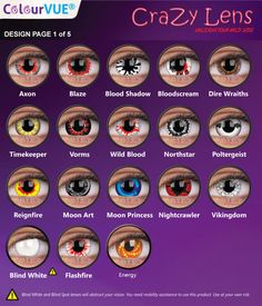 ColourVUE Crazy 3 Month lenses are designed to offer funky and wild looking eyes that match with your cosplay costume. With a huge selection ranging from animal eyes to special effects movie characters, Halloween Contacts, Eye Contacts, Rare Eye Colors, Eye Color Chart, Rare Eyes, Anime Crafts, Portrait Cartoon, Eye Drawing Tutorials, Ideas