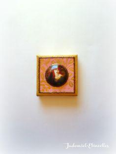 """Réservé S.L. Mini toile décorative série """" Il était une fois : Les Muses de Rossetti ... """" n°1 : Accessoires de maison par jademiel-etincelles"""