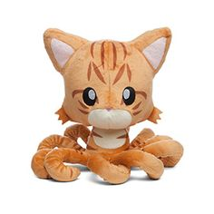 With this Tentacle Kitty plush, you can hug Tentacle Kitty back. Welcome her to Earth and let her know that not everybody is afraid of her just because she looks different. Grab one today before she grabs you!