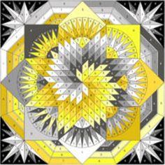 Spiral Lone Star-Quilt