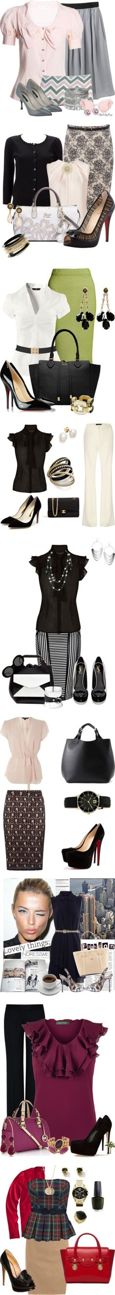 """Work Wear 48"" by kimsteenkamp ❤ liked on Polyvore"