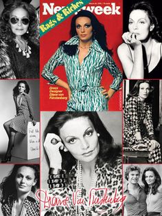 Diane von Fürstenberg (born December 31, 1946) is a Belgian-born American fashion designer best known for her iconic wrap dress. She rose to prominence when she married into the German princely House of Fürstenberg, as the wife of Prince Egon of Fürstenberg. Her company is now a global luxury lifestyle brand offering four complete collections a year. In 2005, the Council of Fashion Designers of America awarded her the Lifetime Achievement Award. In 2006 she was named as their president.