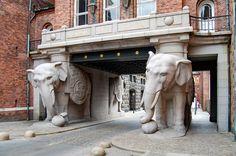 #słoń #kopenhaga #brama #architektura #stolica #dania #denmark #architecture #copenhagen #carlsberg #elephant
