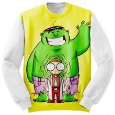Apparel Sweatshirt Hulk Art marvel  #Clothing #hulk #incredible #marvel #comics #avengers #apparels #apparel #sweatshirt