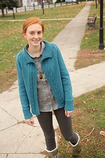 Ravelry: Crossroads pattern by Tian Foley Blue Cardigan, Cardigan Pattern, Classic Elite Yarns, Industrial Piercing, Knit Crochet, Sweaters For Women, Knitting, Sleeves, Jackets