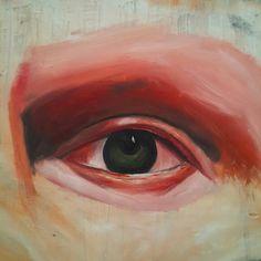 12/12 cm oil painting
