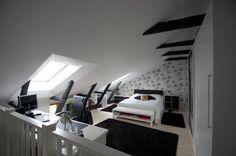 Bed room/home office Bed Room, Home Office, Design Ideas, Interior Design, Dormitory, Nest Design, Home Interior Design, Bedroom, Home Offices