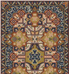 Cross Stitch Embroidery, Cross Stitch Patterns, Big Rugs, Bead Crochet Rope, Chart Design, Bohemian Rug, Miniatures, 1, Diy Crafts