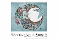 "Ancient Art of Stone - Wings of Transcendence (13"" x 19"" Open Edition), $55.00 (http://store.ancientartofstone.com/wings-of-transcendence-13-x-19-open-edition/)"