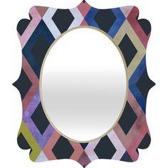 Georgiana Paraschiv Terra Quatrefoil Mirror   DENY Designs Home Accessories