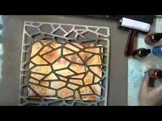 Gelli™ Printing with Styrofoam Plates - YouTube