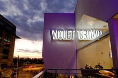 Violet Crown Cinema~ beautiful new theater right up the block from us here in the 2nd St. District!
