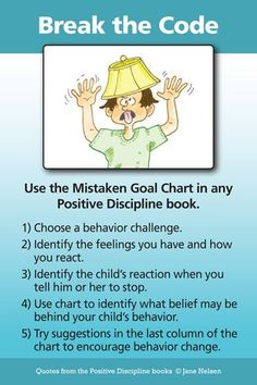 Break the Code of Misbehavior | Positive Discipline