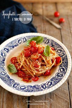 Cucina Scacciapensieri: Spaghetti con pomodorini e briciole di pane