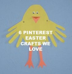 Lots of cute Easter crafts for kids. Holiday Crafts For Kids, Easter Crafts For Kids, Toddler Crafts, Easter Stuff, Easter Activities, Craft Activities For Kids, Preschool Crafts, Craft Kids, Easter Art