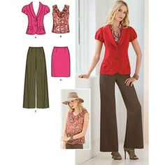 Simplicity Sewing Pattern 2422 Misses'/Miss Petite by PatternWalk