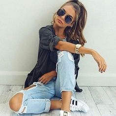 39 ideas fashion photography ideas modeling poses photo shoots for 2019 Casual Outfits, Summer Outfits, Cute Outfits, Fashion Outfits, Style Fashion, Net Fashion, Casual Dresses, Casual Summer Fashion, Casual Jeans Outfit Summer
