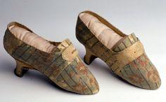 Shoes, Scarpette c.1770 | Palazzo Mocenigo