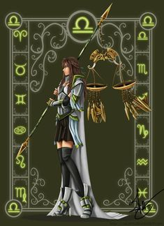 Libra by rakaon on DeviantArt PERIDOT is the zodiac gem for Libra (the really bright yellow-green color stone) Libra Art, Libra Love, Zodiac Art, Astrology Zodiac, Zodiac Signs, Astrology Signs, Signo Libra, Libra Monthly Horoscope, Sketches